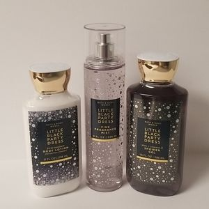 Little Black Dress Body Care Set - Price is Firm!!